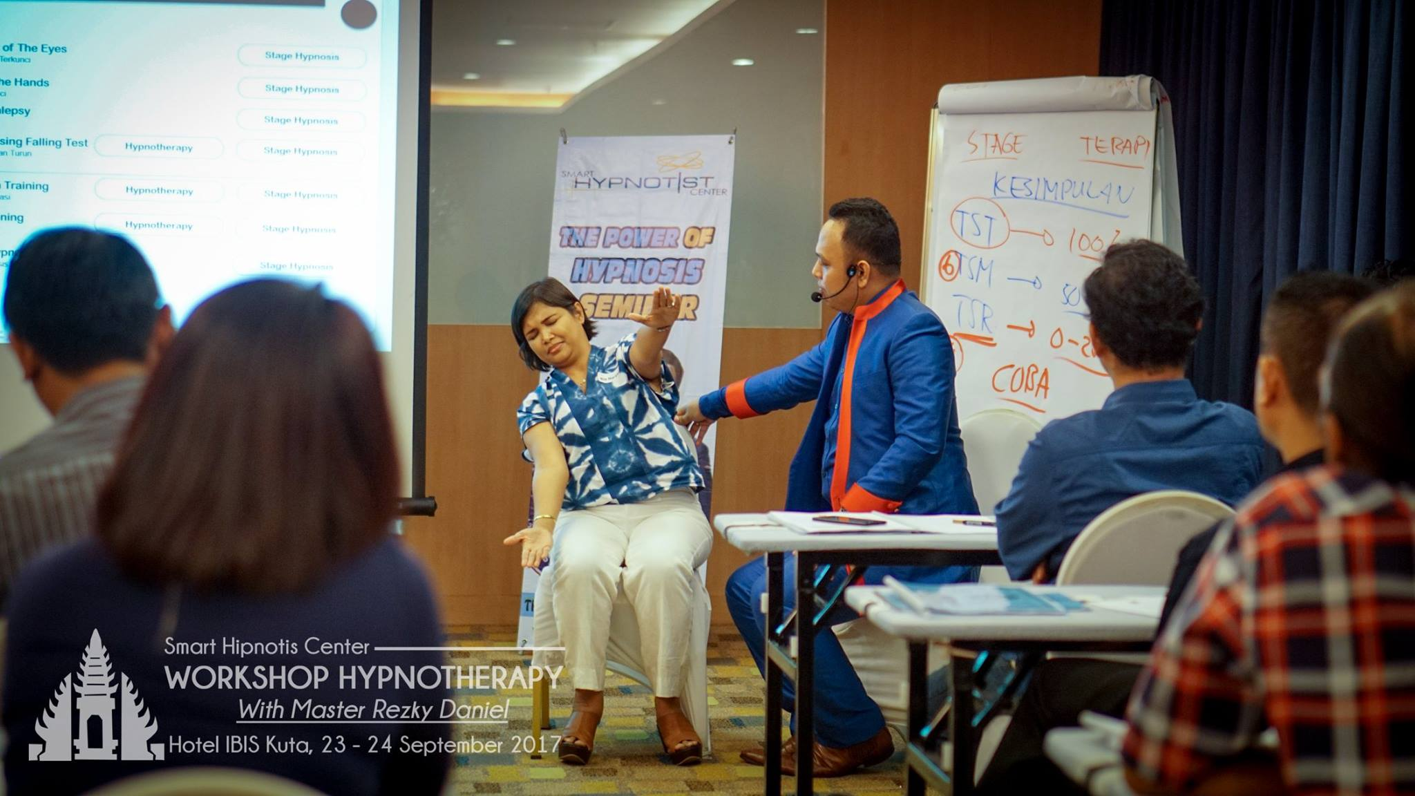 Workshop Hypnotherapy Bali