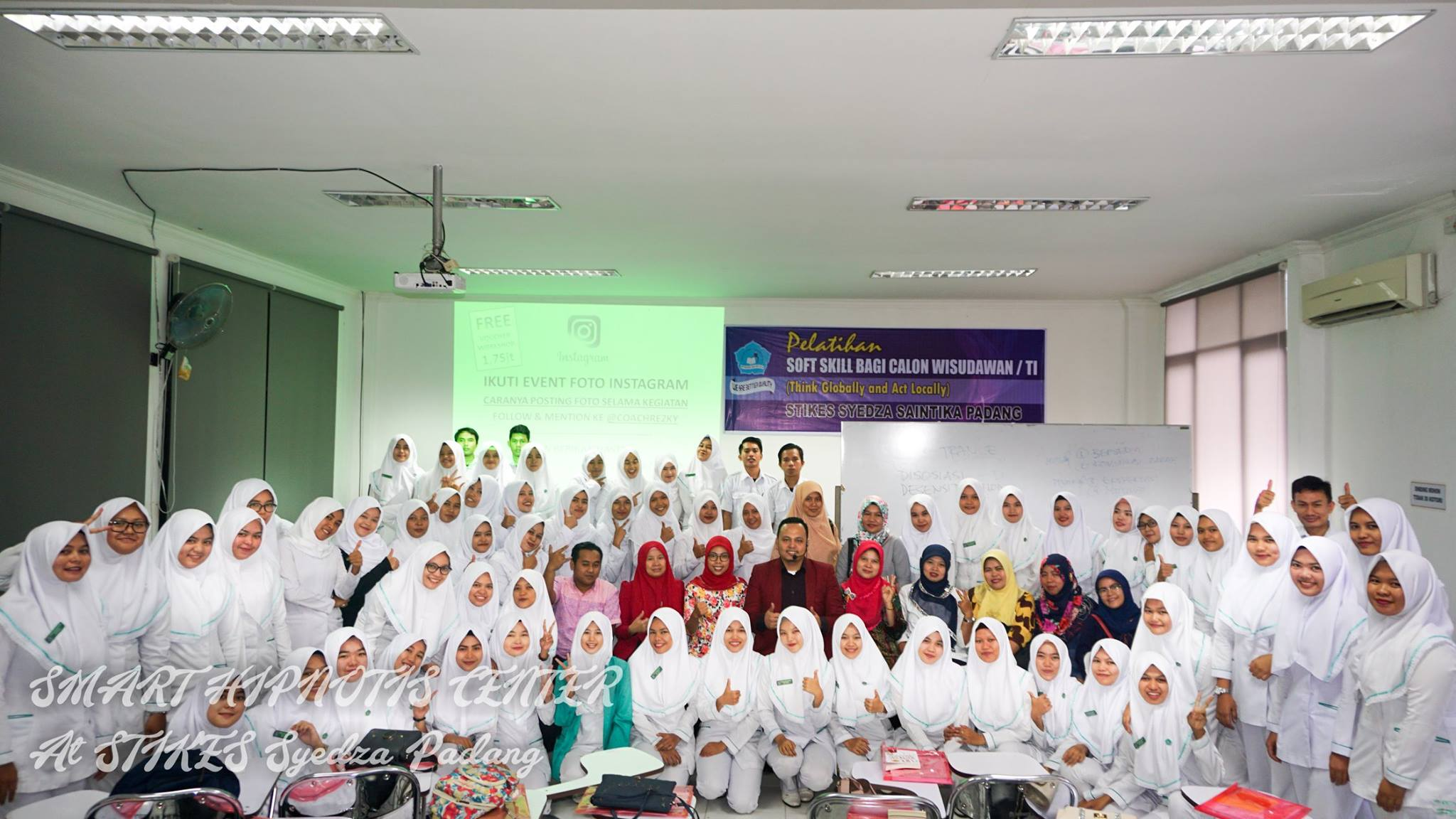 Workshop Hypnotherapy Padang