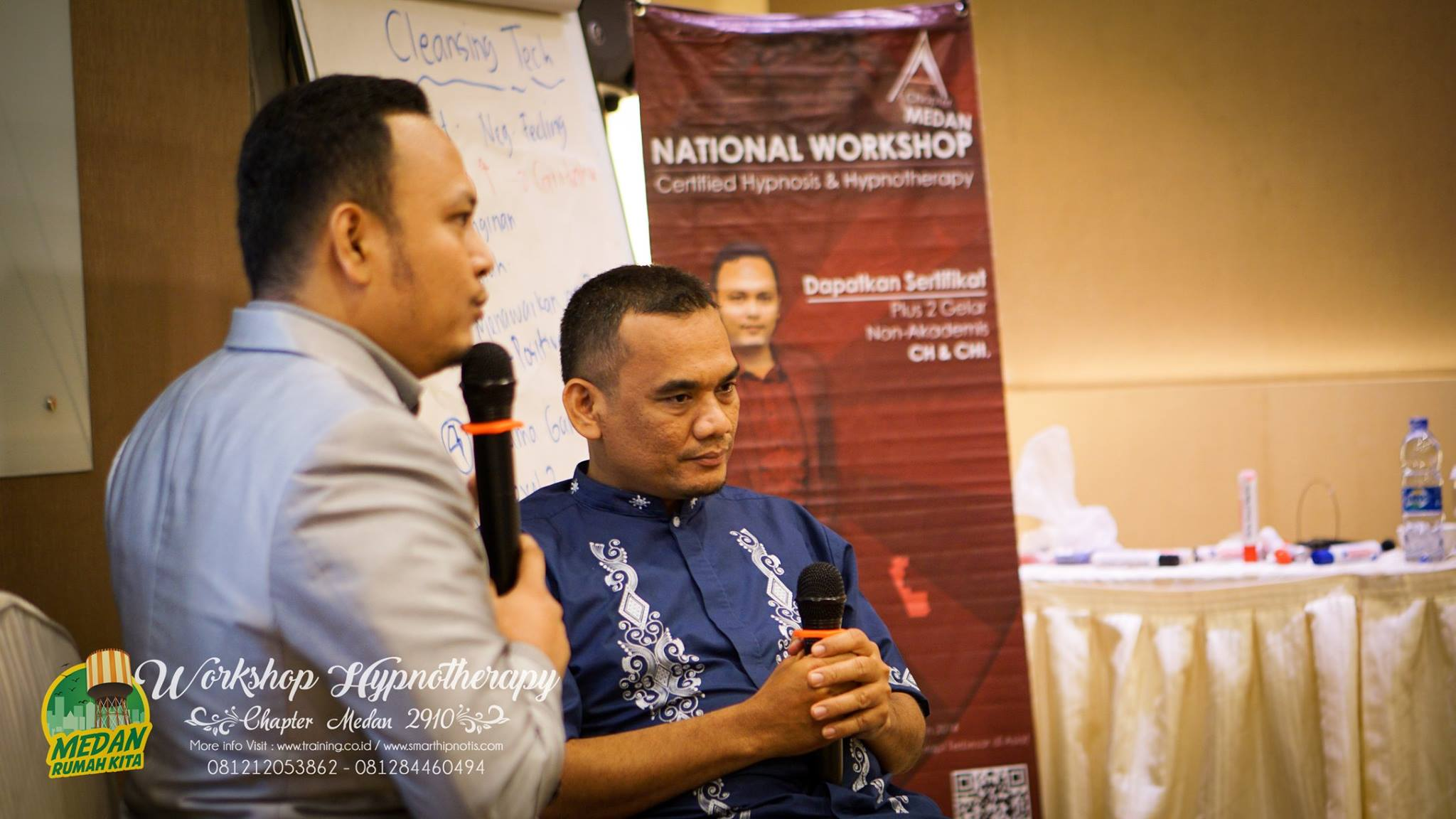 Workshop Hypnotherapy Medan